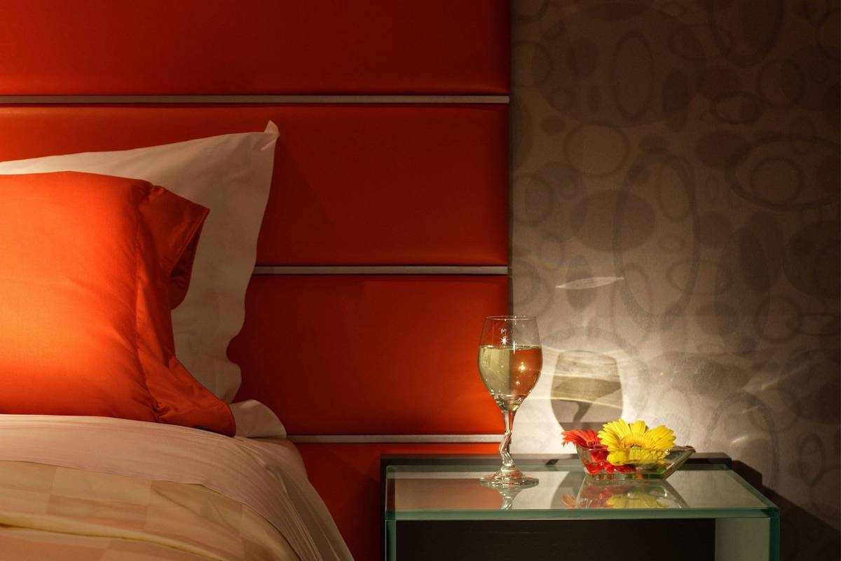The Orange Room - Get that super warm orange glow room relaxing at night