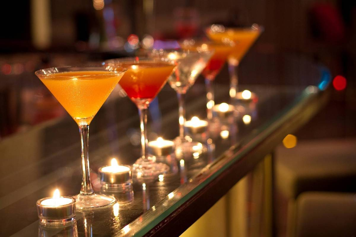 Award-winning cocktails  <br alt=