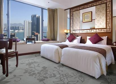 Harbour View Room - A room with a view awaits you at LKF Hotel