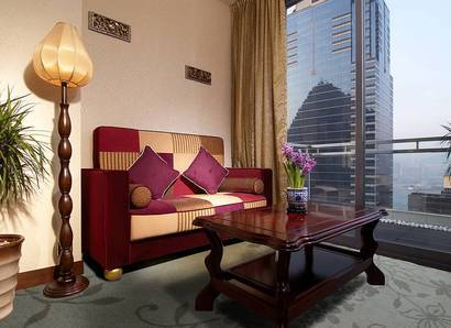 Deluxe Harbour View Suite - Enjoy your room's private balcony with a stunning harbour view