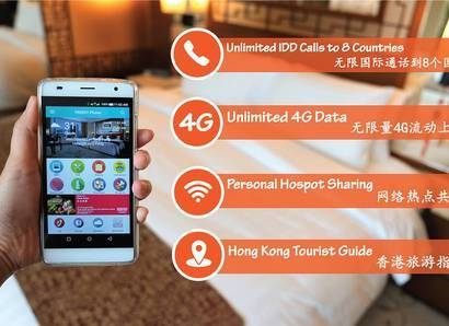 FREEDY Smartphone - A complimentary internet-connected smartphone is found in all guest rooms